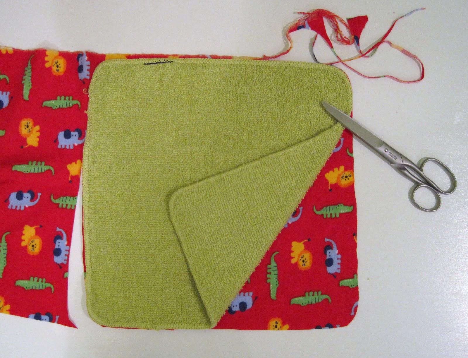Diy Flannel Washcloths: DIY Cloth Baby Wipes Or Washcloths