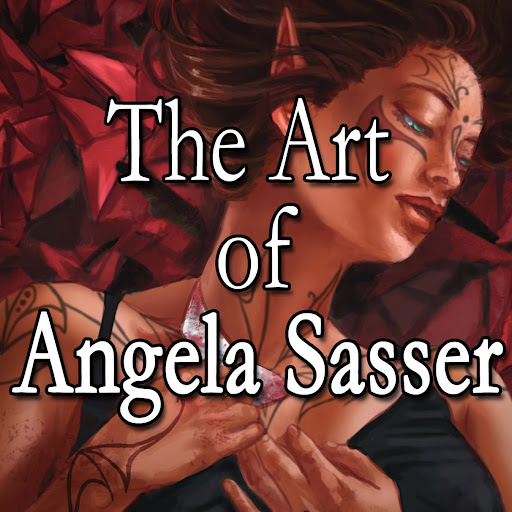 Angelic Shades - The Art of Angela R. Sasser