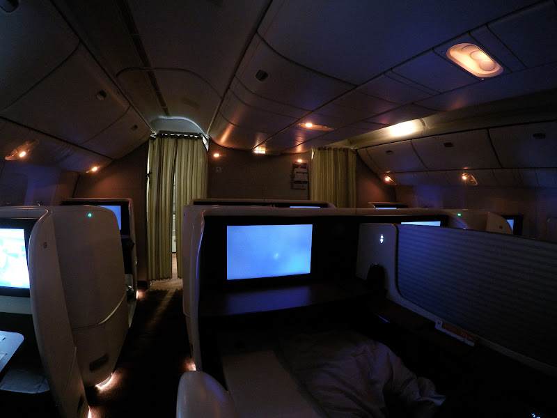 JL%252520F%252520HND LHR 119 - REVIEW - JAL : First Class - Tokyo Haneda to London (B77W)