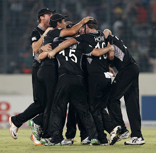 New Zealand cruised to semi-finals after committing another upset, New Zealand vs South Africa, 3rd Quarter-Final, Mirpur, ICC Cricket World Cup 2011, March 25, 2011