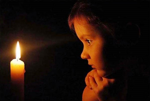 Упражнения с пламенем свечи