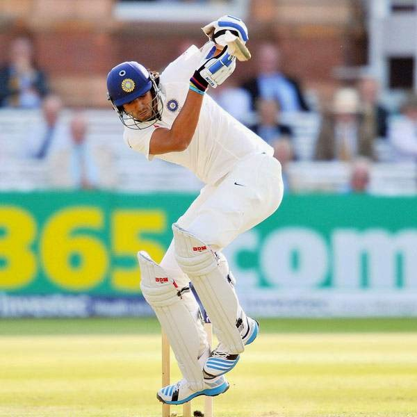 India's Ishant Sharma bats during the first day of the second Test cricket match between England and India, at Lord's Cricket Ground in London, England on July 17, 2014.