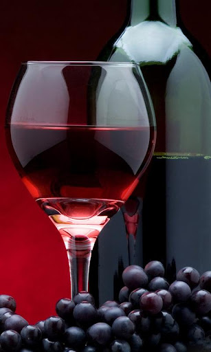 wine bottle wallpaper
