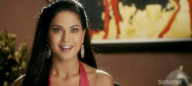 Screen Shot Of Hindi Movie Super Model (2013) Download And Watch Online Free at Alldownloads4u.Com