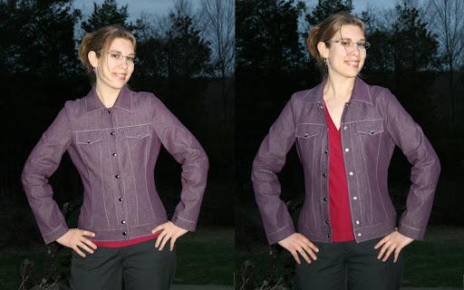 Style Arc Stacie Jean Jacket (Denim)