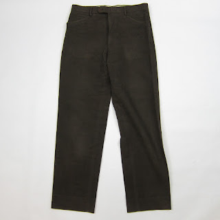 **SALE** Hermès 34x32 Brushed Cotton Trousers