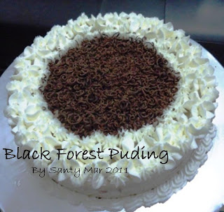 Nauly Cakes & Cookies: Black Forest Puding