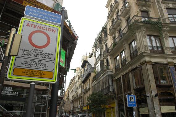 Cámaras de control en accesos e infracciones automatizadas para los barrios de Las Letras, Las Cortes y Embajadores