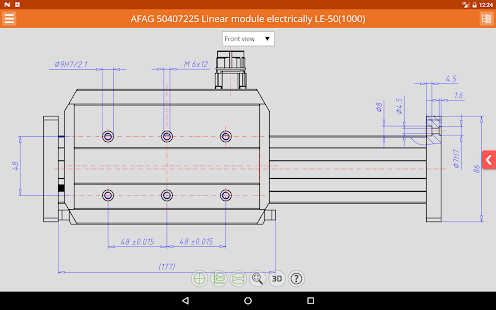 linkable cad models android apps on google play. Black Bedroom Furniture Sets. Home Design Ideas