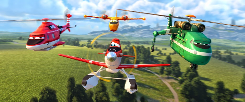 Disney Planes Fire and Rescue Review: Dusty, Blade Ranger, Dipper, and Windlifter