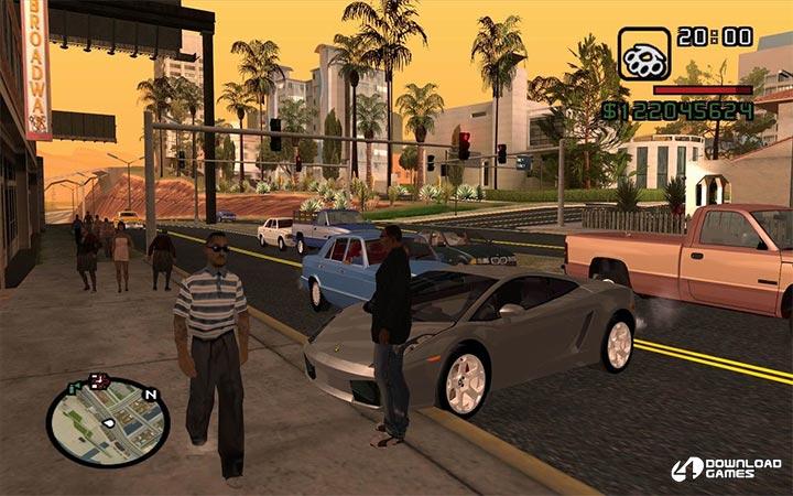 تحميل لعبة جاتا سان اندرس GTA IV San Andreas كاملة ومجانية