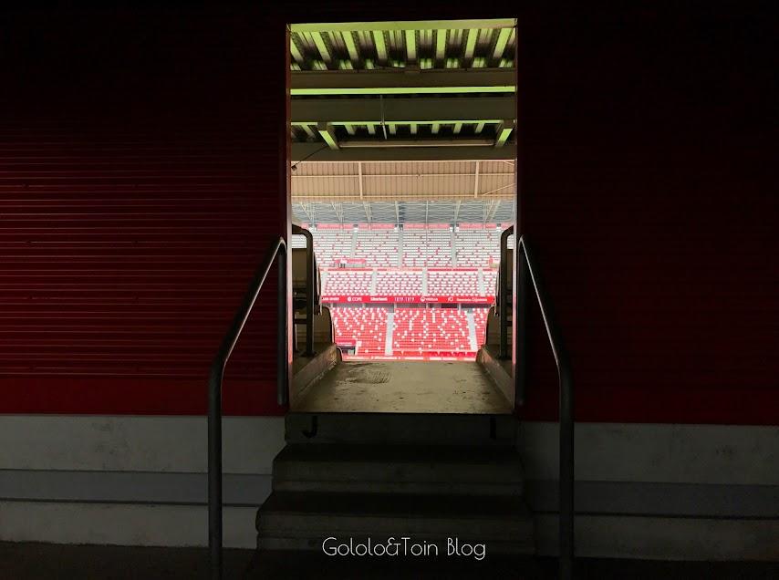 Gradas del estadio El Molinón