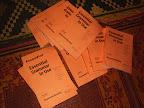 English grammar books arrive for the night English classes