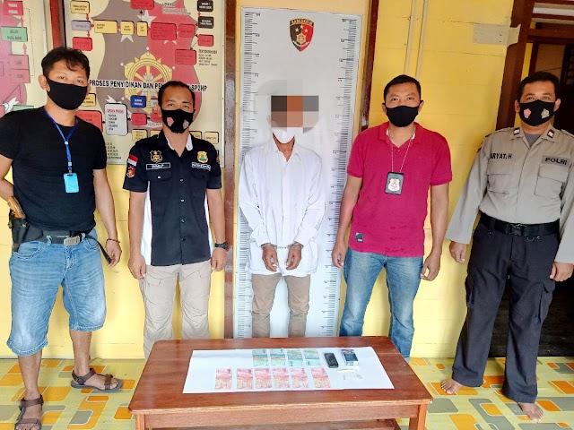 Edarkan Sabu di Rantau Bahuang, Pria Ini Ditangkap Polsek Jenamas
