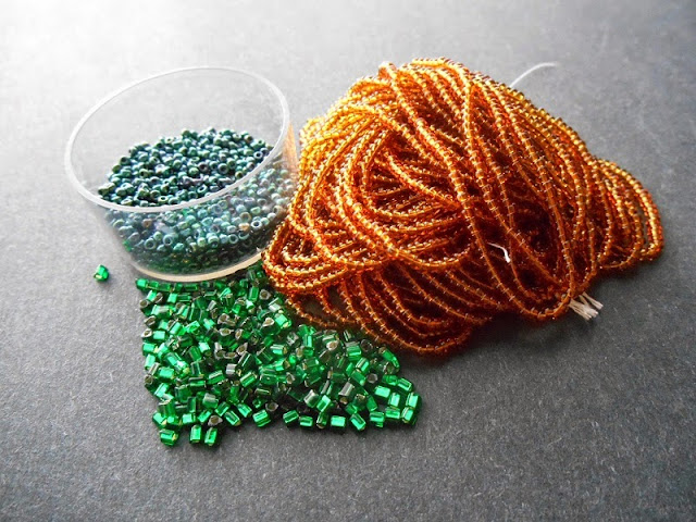 Emerald Wings Bead Color Idea