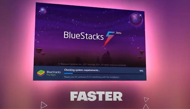 محاكي bluestacks 5