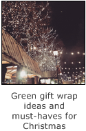 green gift wrap ideas and musthaves for christmas