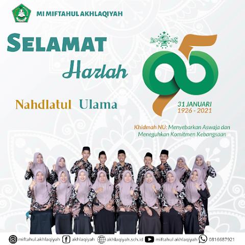 Selamat Harlah ke-95 Nahdlatul Ulama