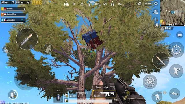 Pubg Mobile Paraşüt Sandıkların En Garip Düştüğü Yerler