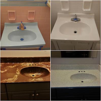 Bathtub Refinishing Sink Refinishing  Repairs For