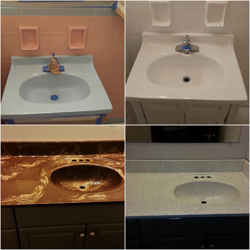 Bathtub Refinishing, Sink Refinishing, Before U0026 After: Click To View.