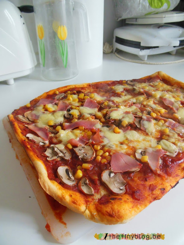 Homemade Pizza Baked