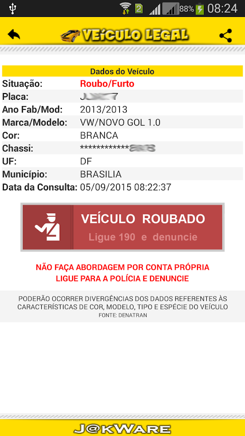 Veículo Legal- screenshot