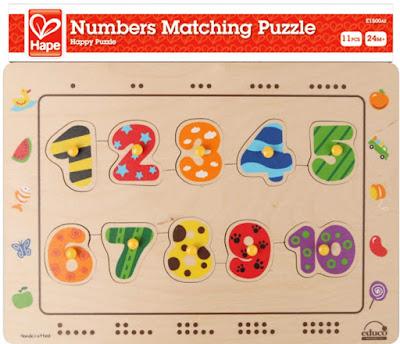 Hình ảnh hộp Đồ chơi Ráp hình Số đếm Hape Numbers Matching Puzzle