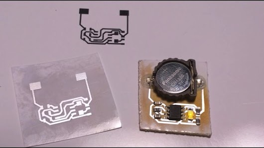 On YouTube: No-etch circuit boards with your laser printer