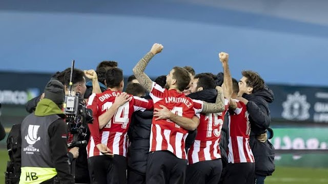 Athletic Bilbao Defeats Real Madrid 2-1 To Set A Showdown With Barcelona In Super Copa Final
