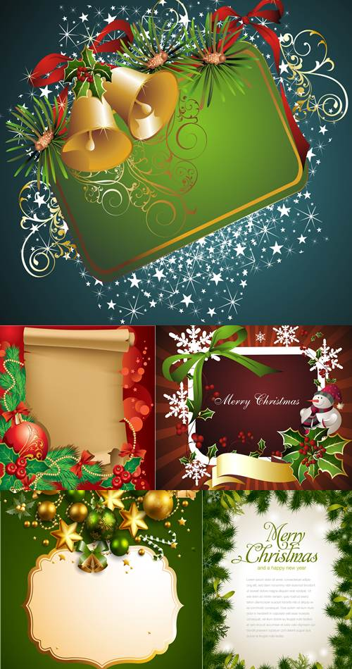 Stock: Merry Christmas background 12
