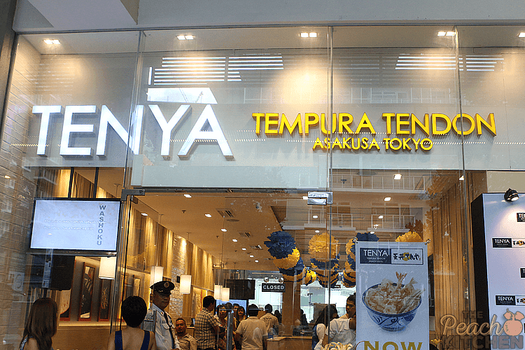 Tenya Tempura Tendon Opens Up in Market! Market!