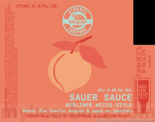 Stoudts Brewing - Sauer Sauce