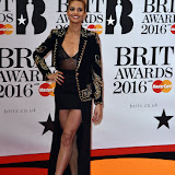 OIC - ENTSIMAGES.COM - Alesha Dixon at the  The BRIT Awards 2016 (BRITs) in London 24th February 2016.  Raymond Weil's  Official Watch and  Timing Partner for the BRIT Awards. Photo Mobis Photos/OIC 0203 174 1069