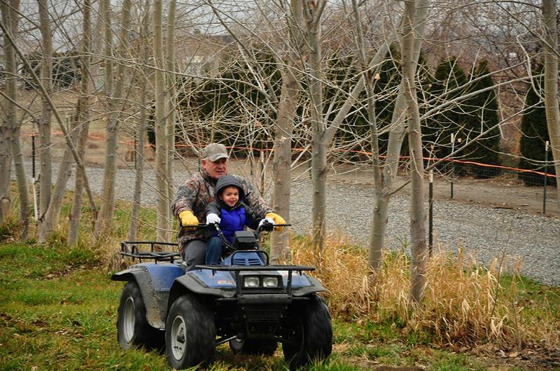 Grandpa and Michael