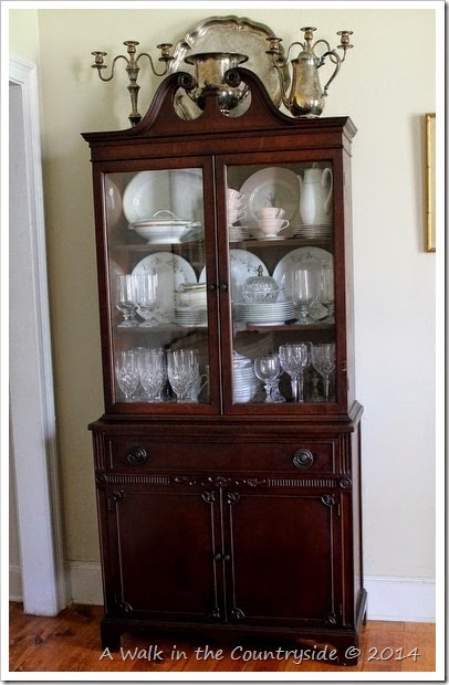 New Old China Cabinet