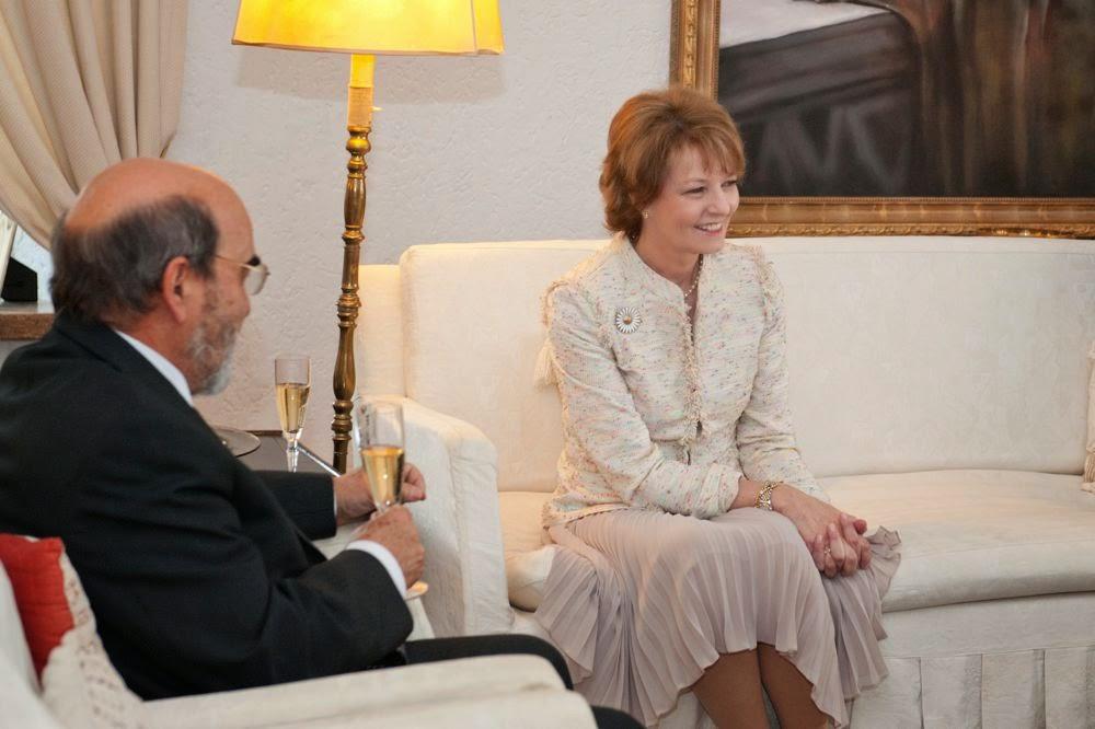 Principesa Margareta, principele Radu, Jose Graziano da Silva, director general al Organizației Națiunilor Unite pentru Hrană și Agricultură (FAO)
