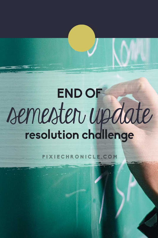 End of Semester Updates