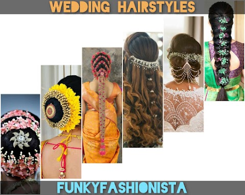 Beautiful Bridal Hairstyles This Wedding Season  | Funkyfashionista