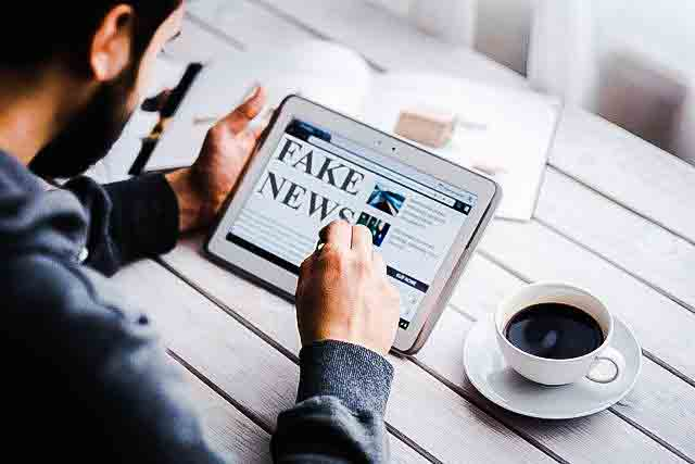 Fake news on electric media