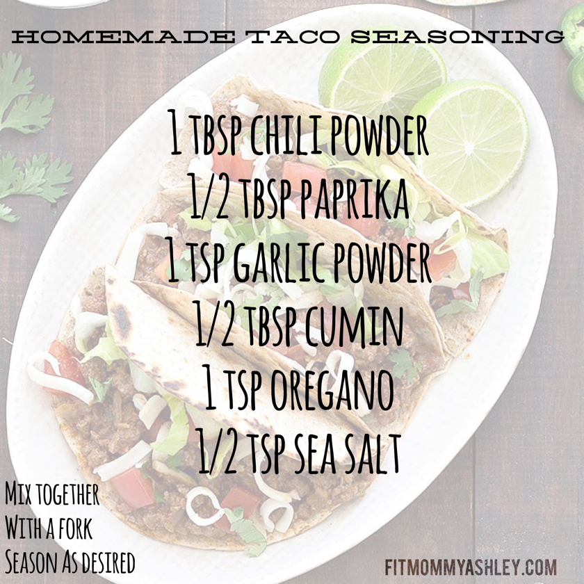 homemade, taco, seasoning, low sodium, easy, clean, healthy, natural, delicious, flavor, taco, tuesday