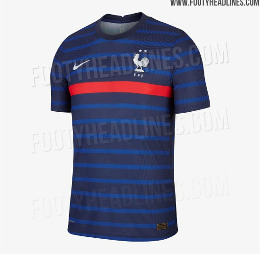 Bocoran baju bola, Jersey bola Perancis, baju bola perancis