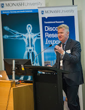 Photo: Prof Steve Jane, Head of Central Clinical School which hosted the inaugural Translational Research symposium.  http://www.med.monash.edu.au/cecs/events/2015-tr-symposium.html