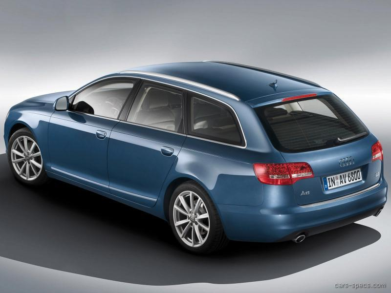 2009 audi a6 wagon specifications pictures prices. Black Bedroom Furniture Sets. Home Design Ideas