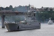 После крымской одиссеи в Николаев зашли три корабля ВМС Украины