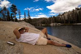 James at Babcock Lake