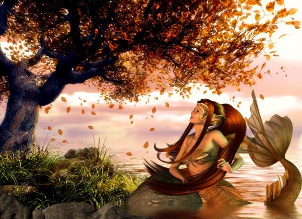 Autumn Mermaid, Undines