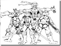 tortugas ninja colorear (9)