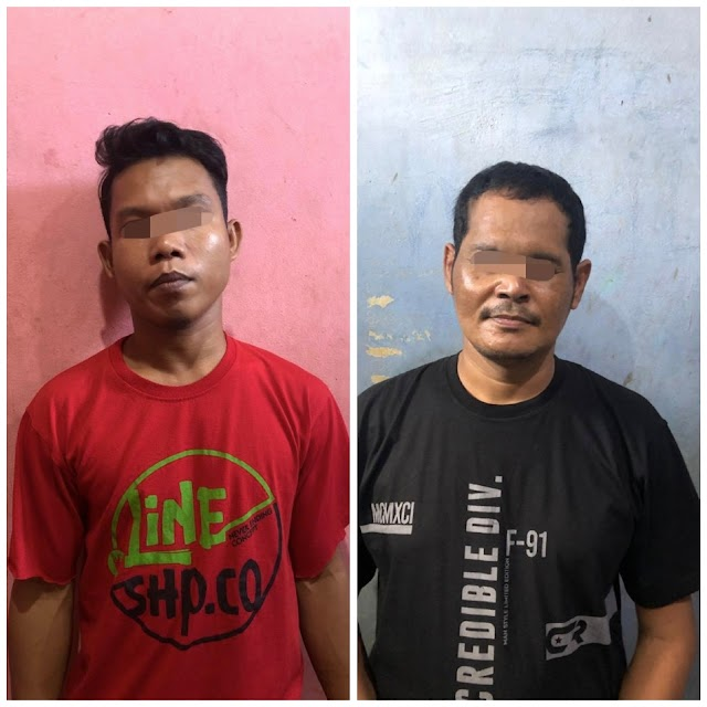 Sering Transaksi Disimpang 4 Belilas, Dua Pengedar Sabu Diringkus Polisi