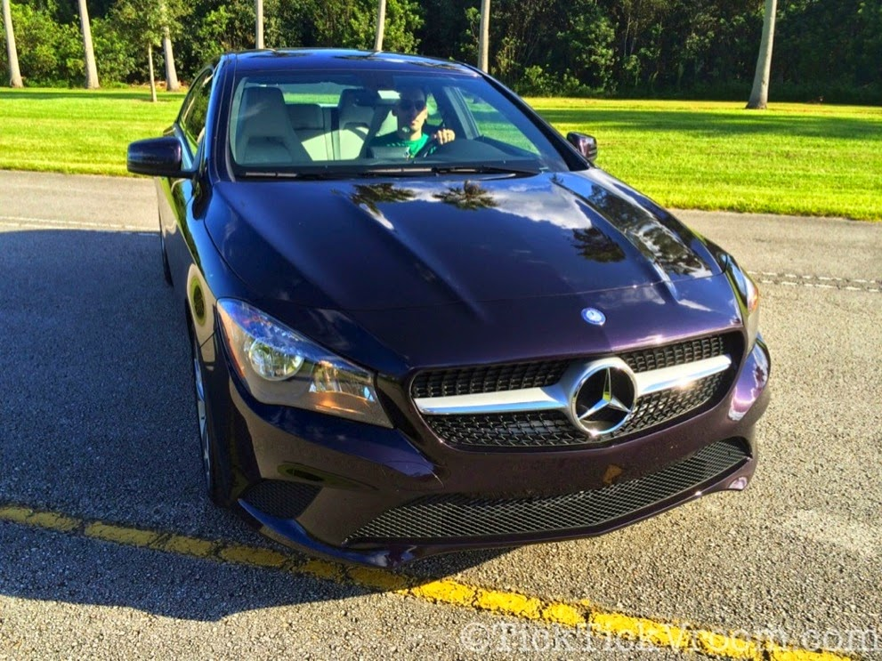 2014 Mercedes-Benz CLA250 Long-Term Test Car - Northern Lights Violet Metellic Long Term Review Road Test 4049